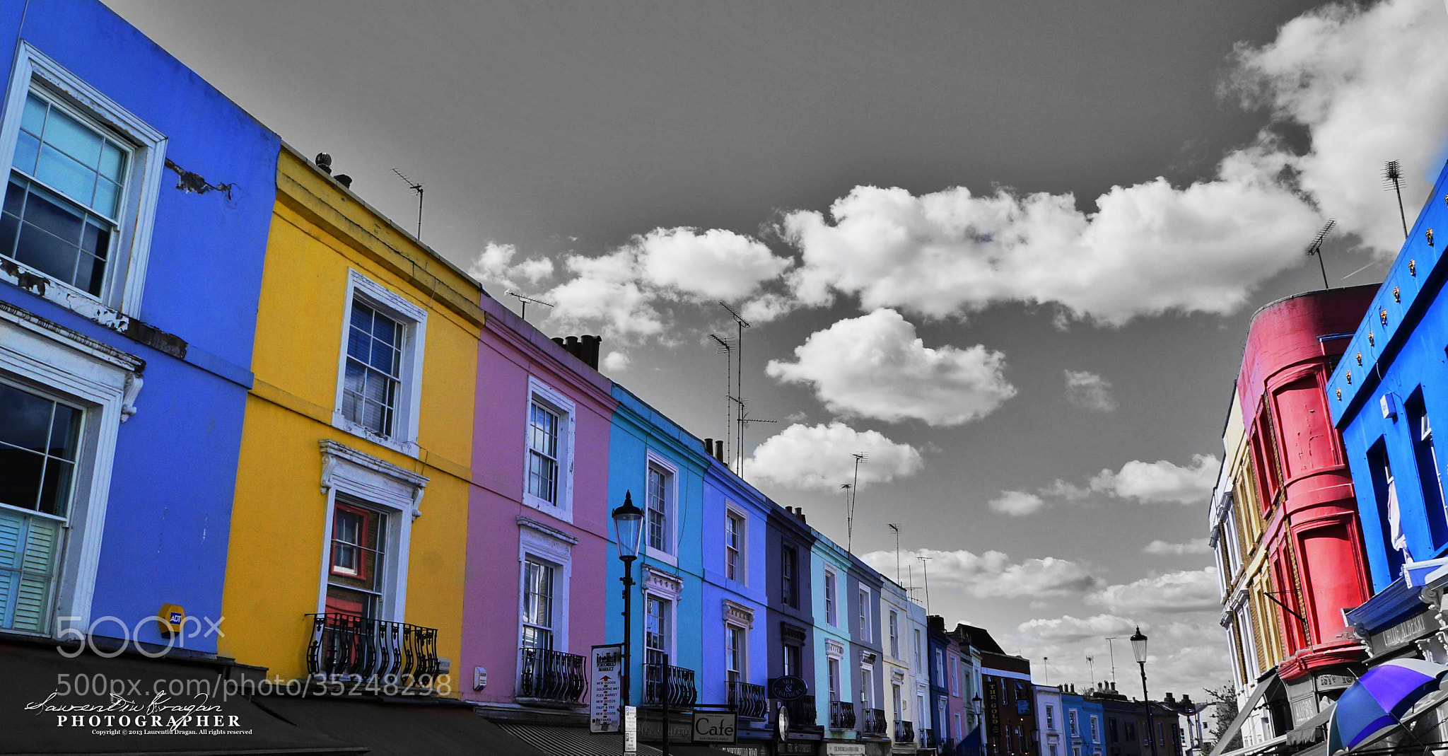 Photograph Portobello Road by Laur Dragan on 500px