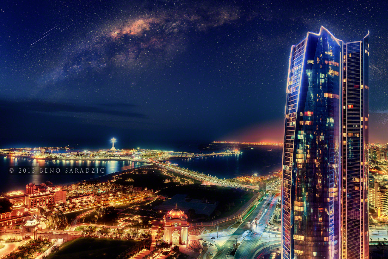 Photograph ABU DHABI GALACTIC by Beno Saradzic on 500px
