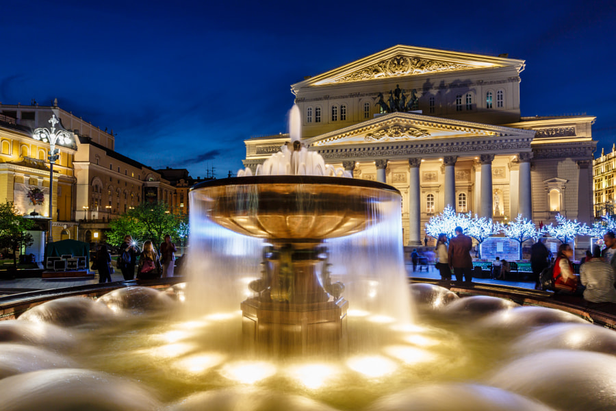 Bolshoi Theatre i by Andrey Omelyanchuk on 500px.com