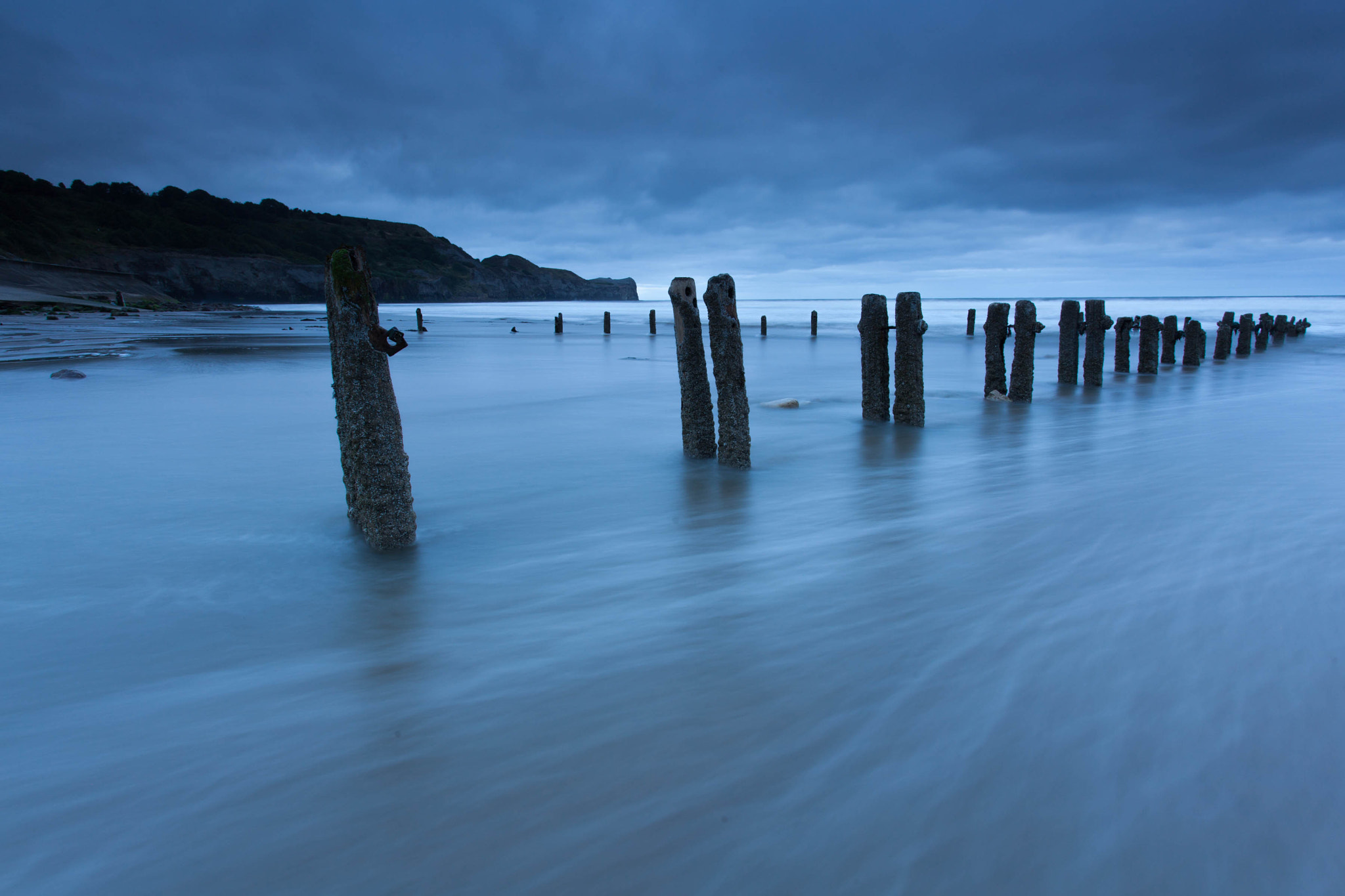 Photograph Sandsend Groynes  by Carl Mickleburgh on 500px