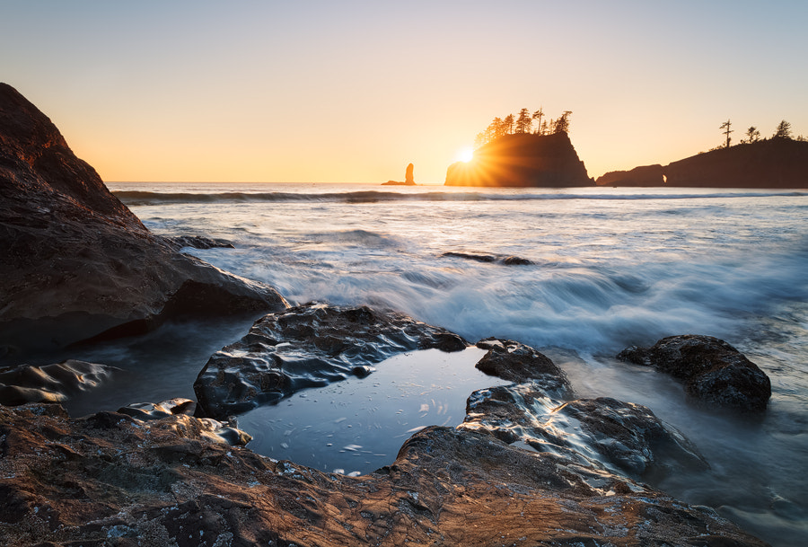 Photograph Second Beach Sunset by Michael  Breitung on 500px
