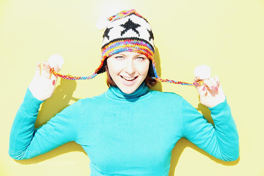 Photograph девочка в шапке by art f on 500px