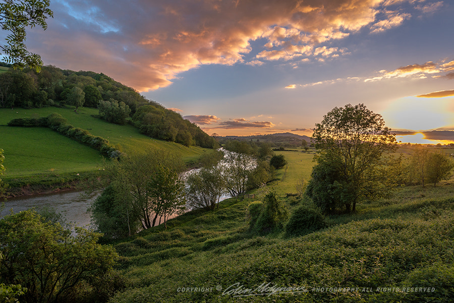 Photograph RIVER WYE NR MONMOUTH by COLIN MOLYNEUX on 500px