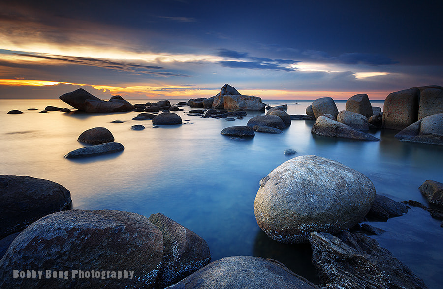 Photograph Round Boulder by Bobby Bong on 500px