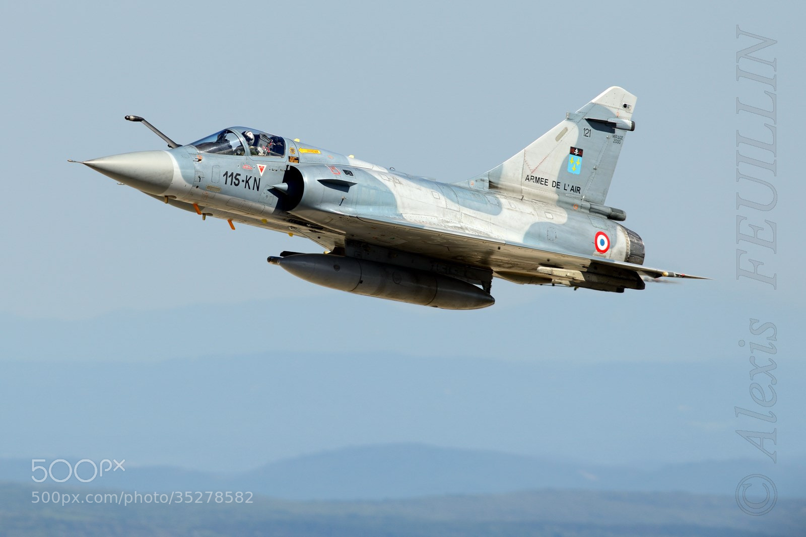 Photograph Mirage 2000C by Alexis FEUILLIN on 500px