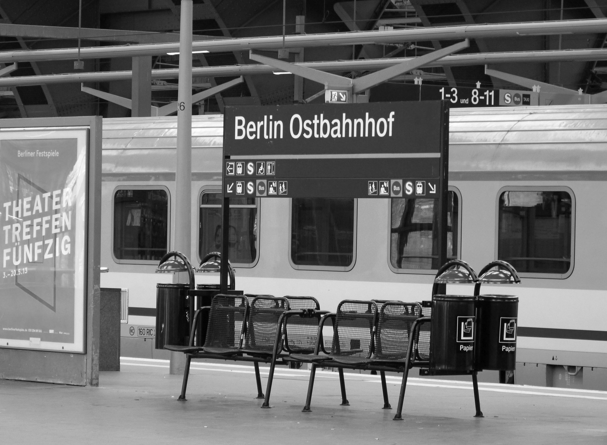 Photograph Berlin Ostbahnof by Florence Guichard on 500px