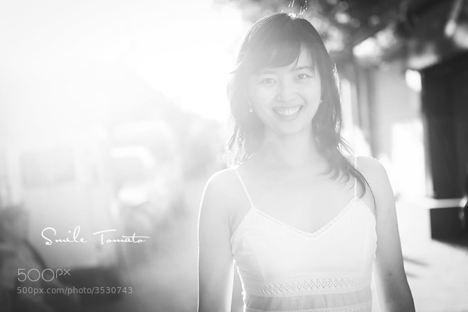 Photograph Beautiful smile by Fiona Yang on 500px