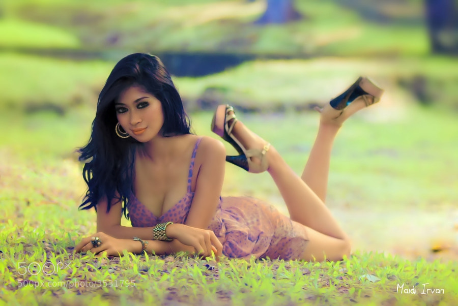 Photograph In the Garden by Maidi Irvan on 500px