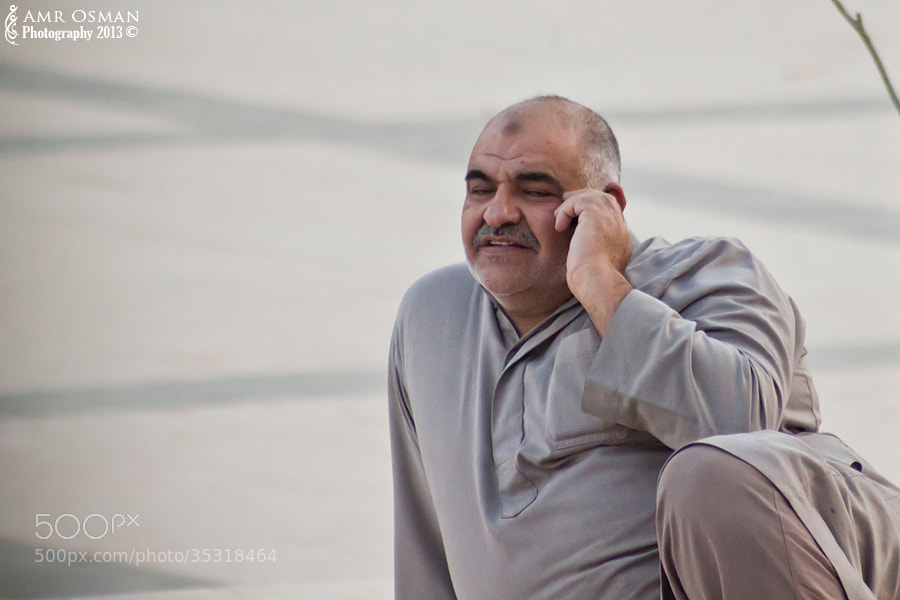 Photograph The Man in Grey by Amr Osman on 500px