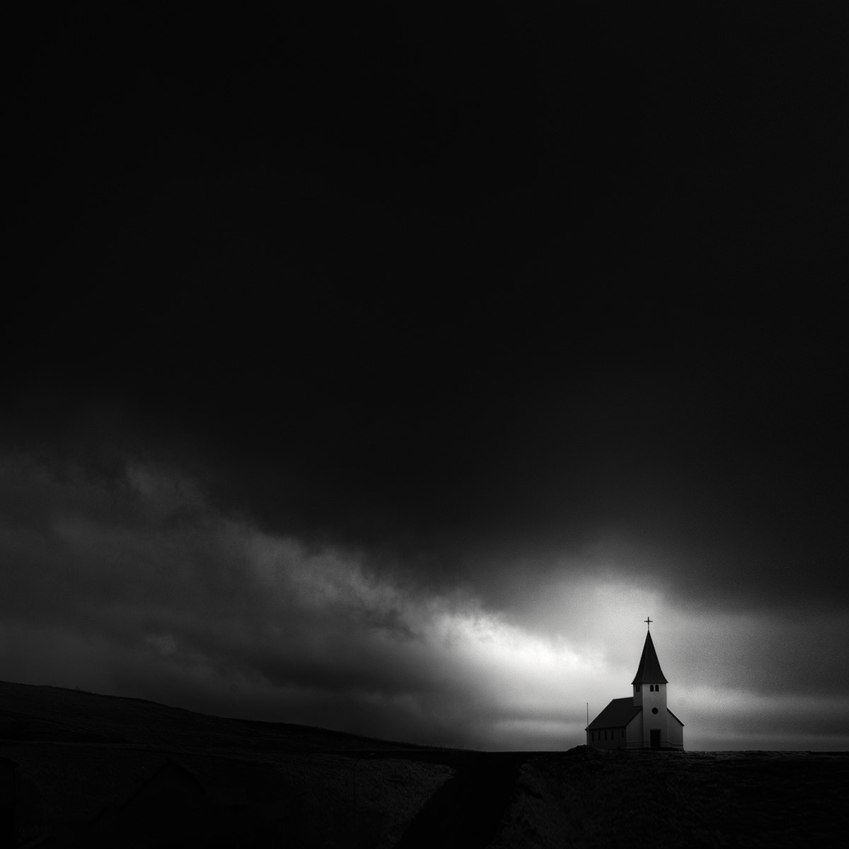 Photograph ⁜ Vik Church by Andy Lee on 500px