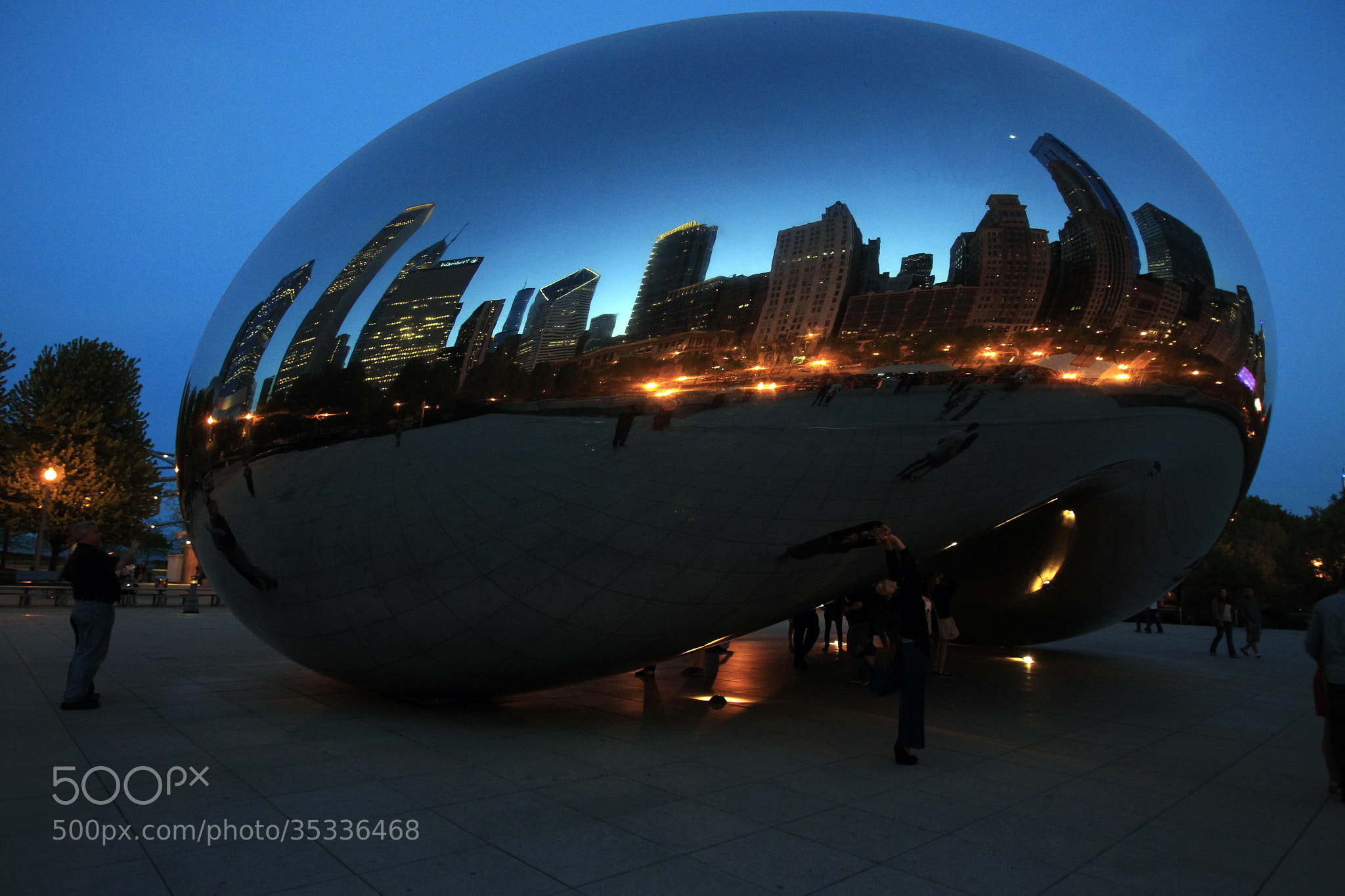 Photograph Bean at Millenium by Cristobal Garciaferro Rubio on 500px