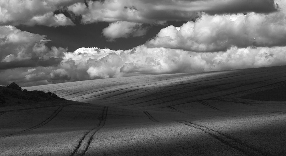 Photograph Shadows over the South Downs by Daniel Hannabuss on 500px