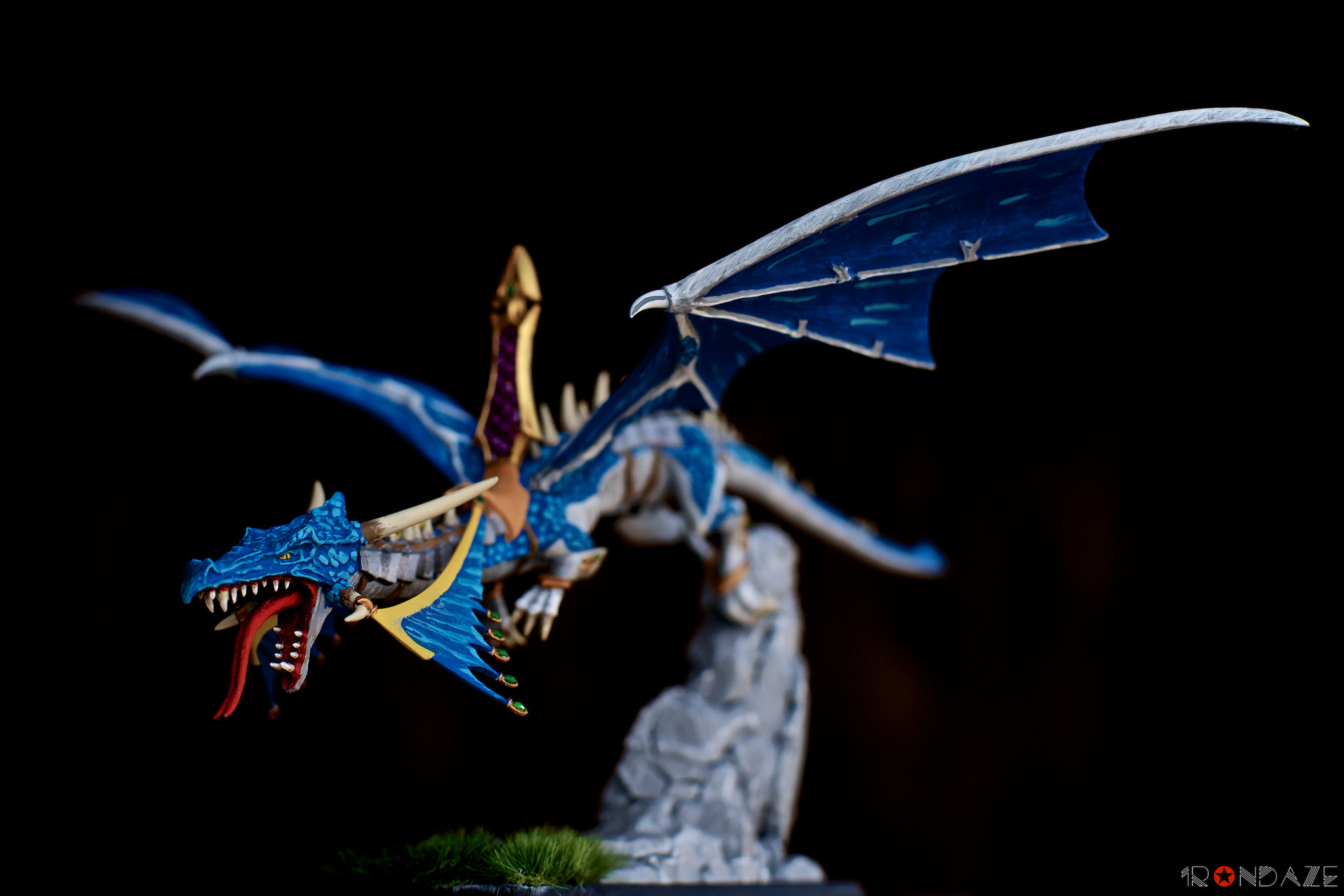 Photograph Blue Dragon by Irondaze  on 500px