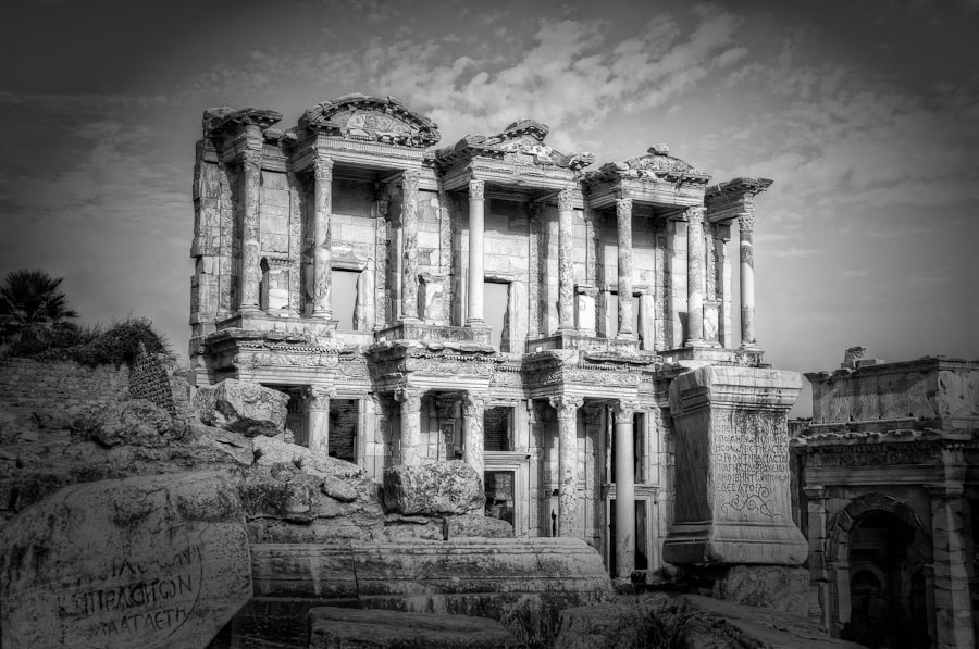 Photograph Library of Celsus, Ephesus by Michael Morris on 500px