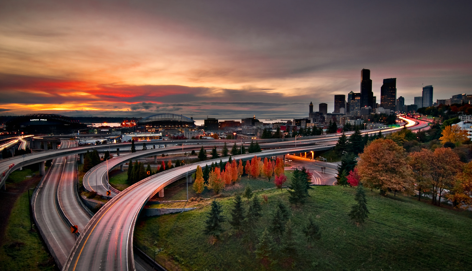 Photograph Seattle in Autumn  by Jay D. on 500px