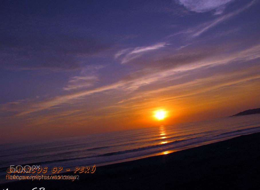 Photograph Sunset en Chorrillos by Marcos  Granda P. on 500px