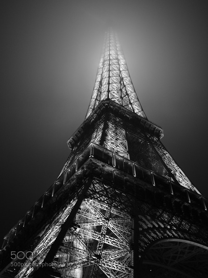 Photograph  Paris Eiffel tower  by Nicole Cambré on 500px