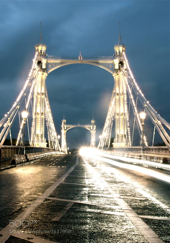 Photograph Albert Bridge by Jade Hucklesby on 500px