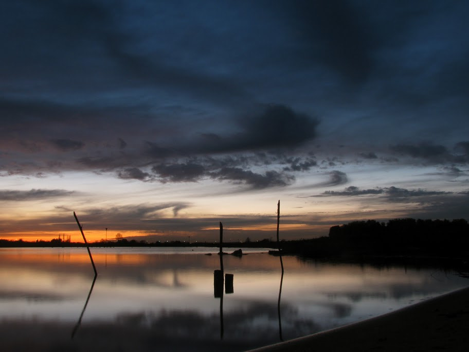 Photograph Poles in the water by Joost Lagerweij on 500px