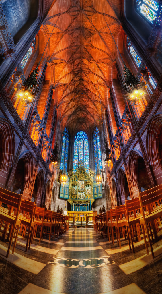 Photograph Anglican Cathedral - Lady Chapel by Richard Deane on 500px