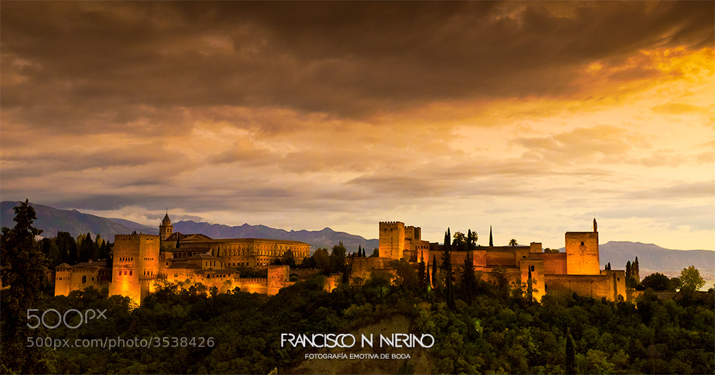Photograph La Alhambra de Granada by Francisco N Merino on 500px