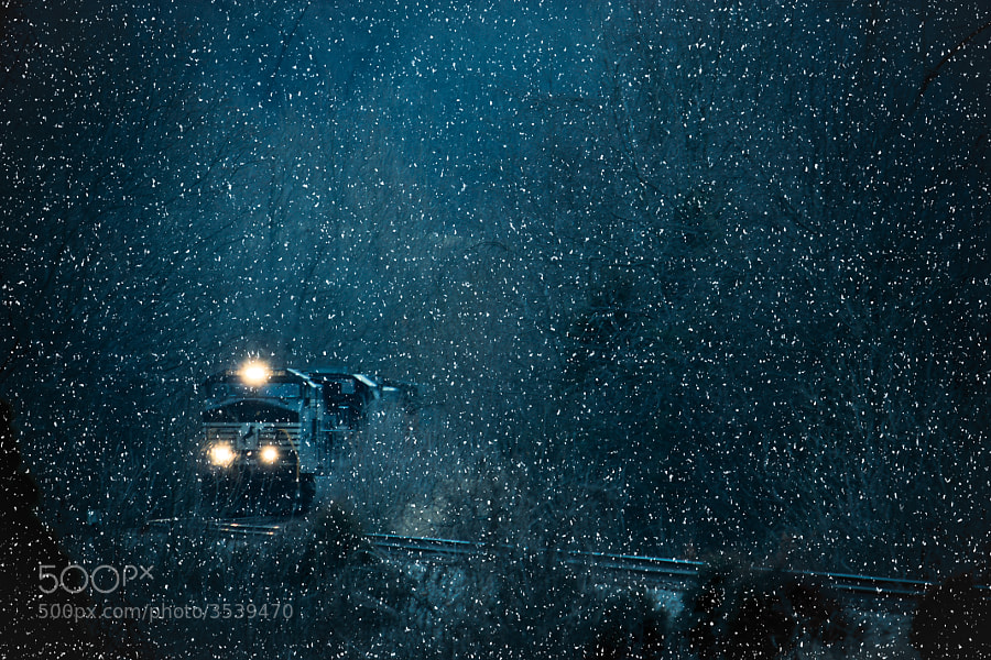 A Train for the Holidays by Greg Booher (gregbooher)) on 500px.com