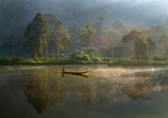 Photograph Situ Gunung Lake by today ismyday on 500px
