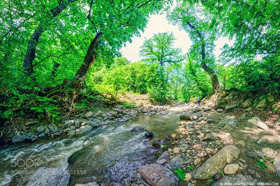 Photograph korkan river by Omid Jafarnezhad on 500px
