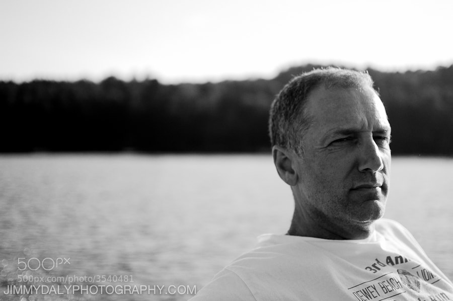 Photograph Dad on Thompson Lake by Jimmy Daly on 500px