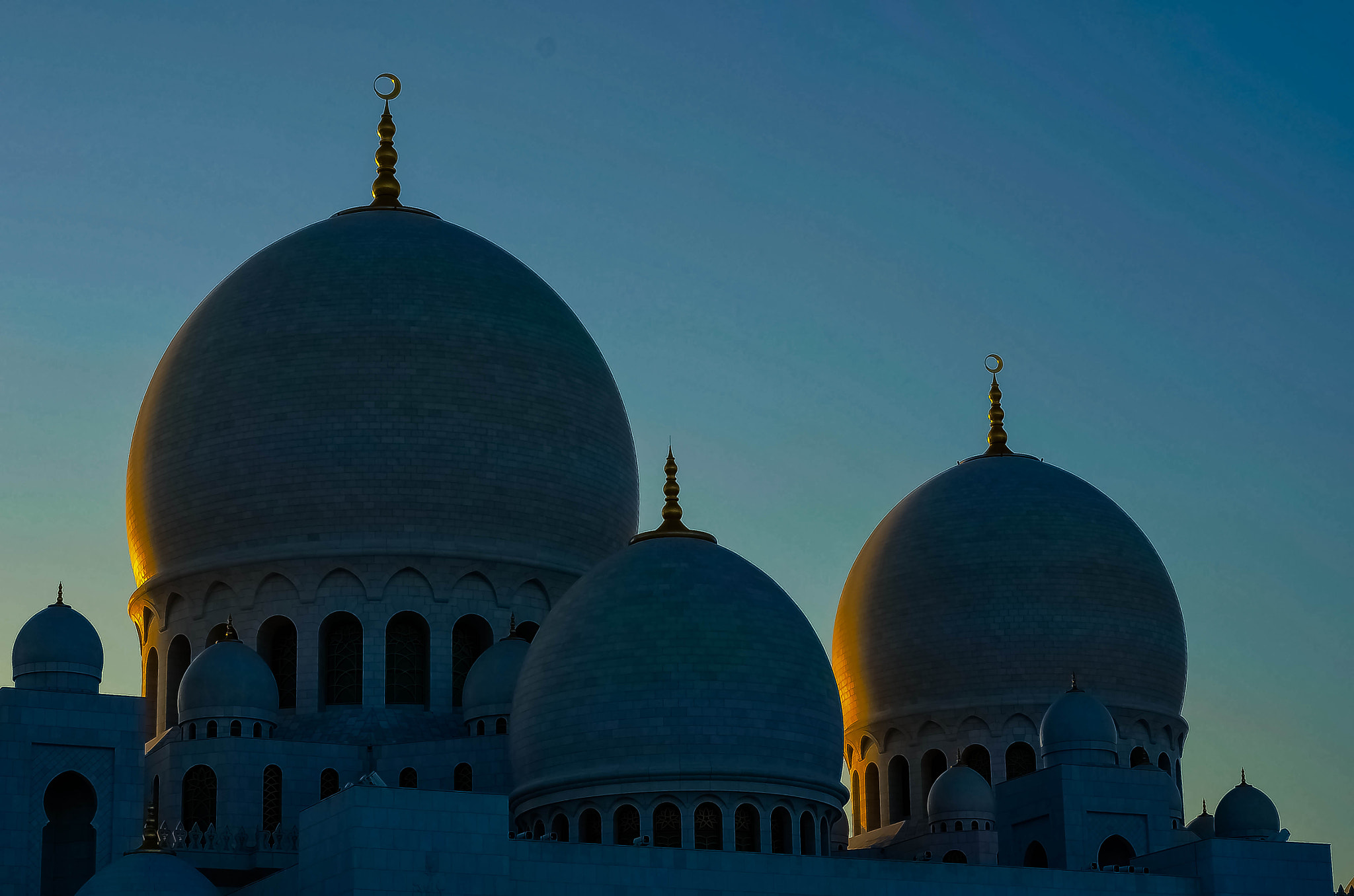 Photograph Domes at Dusk by julian john on 500px
