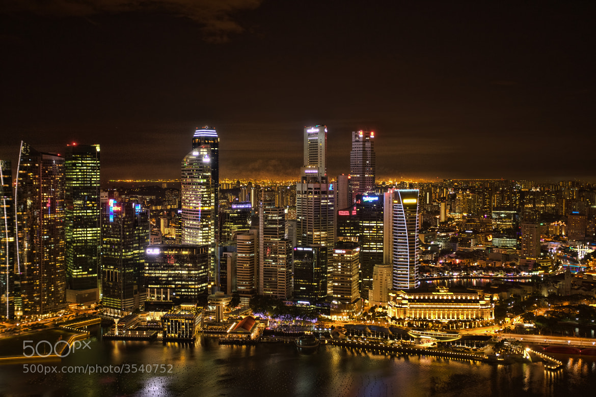 Photograph Singapore at Night by Rahul Matthan on 500px