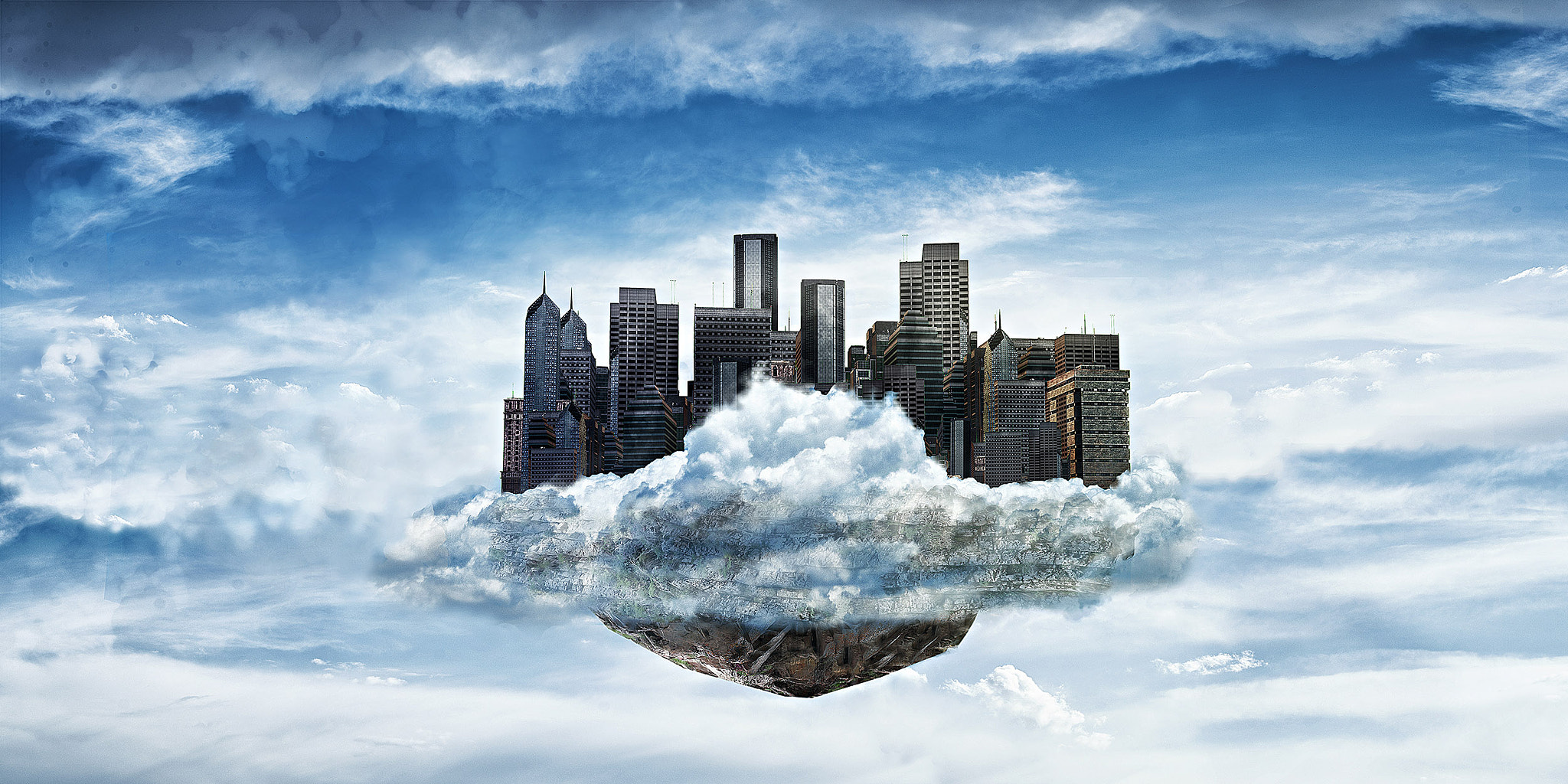 Photograph Cloudy City by Ali Arabzadeh on 500px