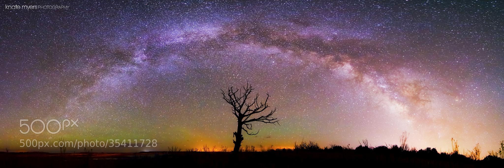Photograph MilkyWay Panorama - Bridge Across the Sky by Knate Myers on 500px