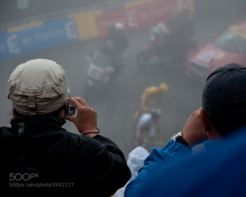 A Fan Perspective of the 2010 Tour de France