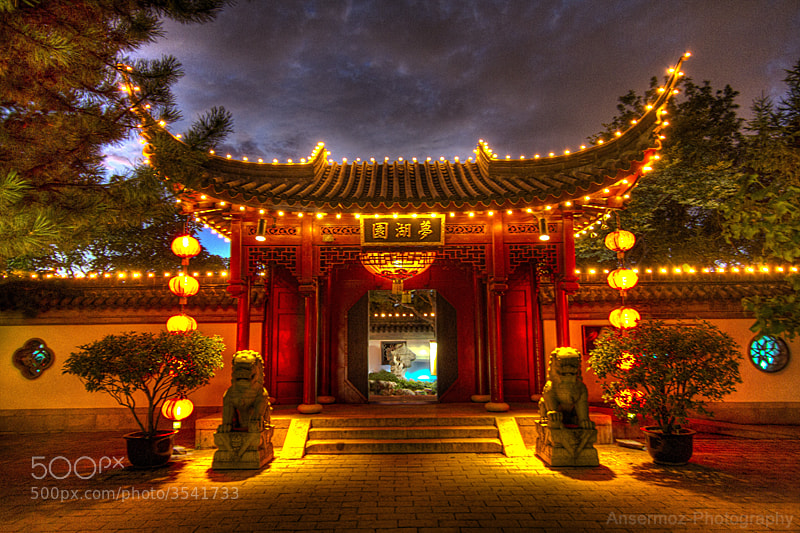 Photograph Chinese Door Hdr by Frederic Ansermoz on 500px