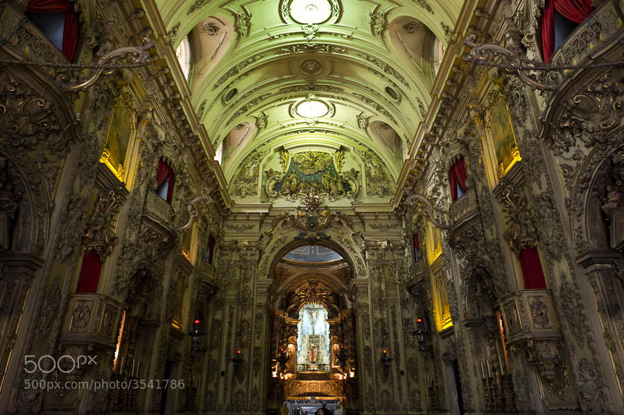 Photograph Rio Church, Brazil by Rowan Sims on 500px
