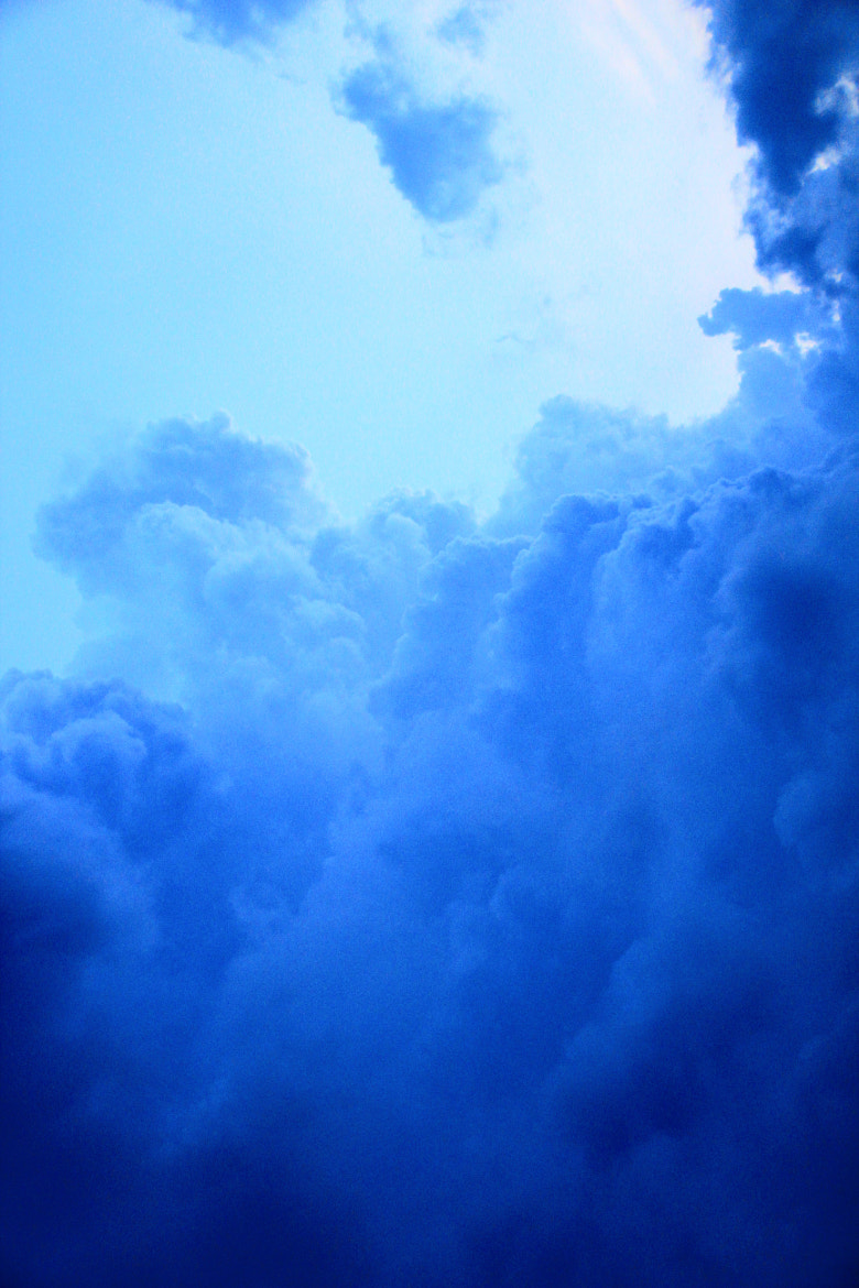 Photograph  The Blue Clouds by Hatoripingjung Khong on 500px