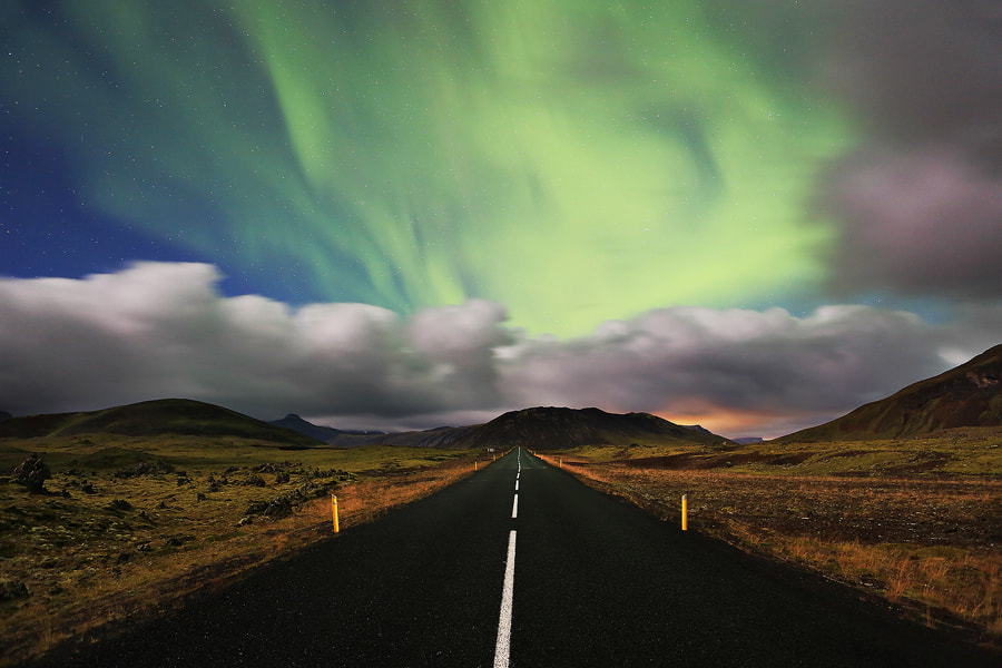 Photograph Aurora Road by Christopher Waddell on 500px