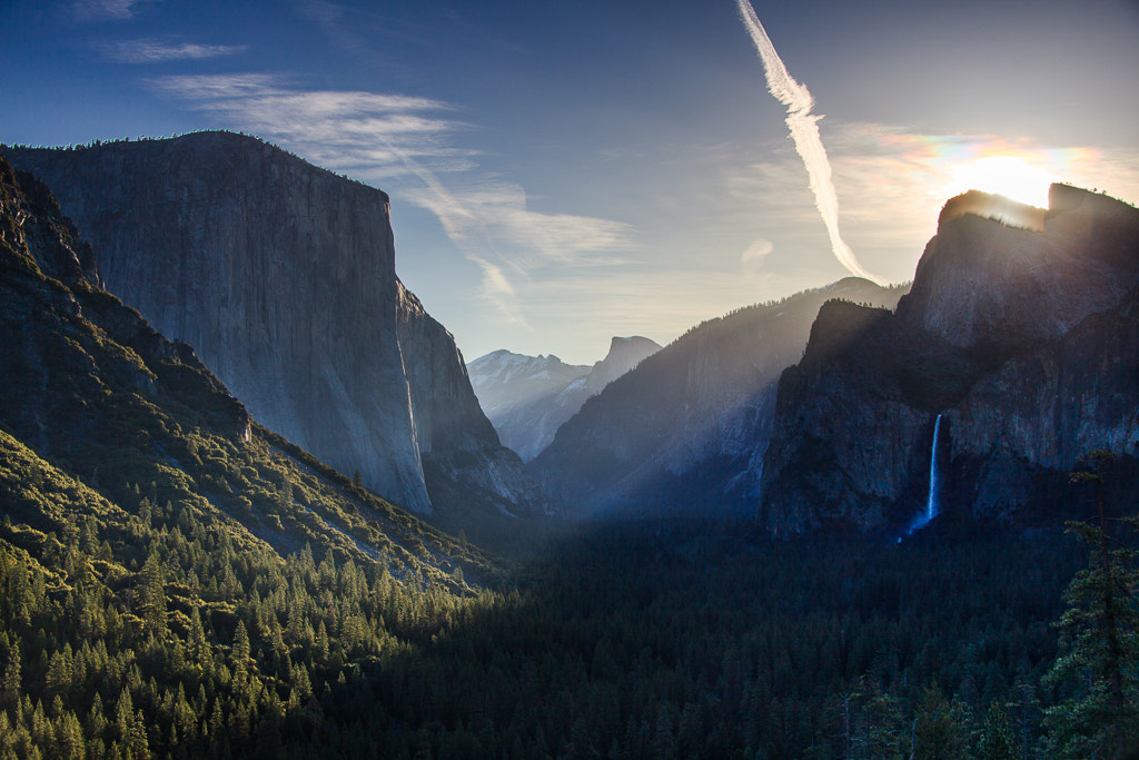 Photograph Yosemite tunnel view by Sabin Merino on 500px