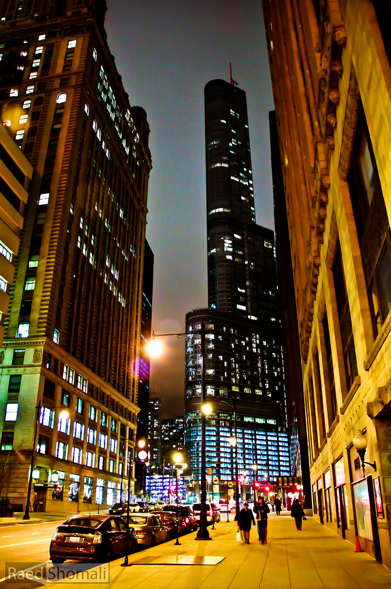 Photograph Chicago Night by Raed Shomali on 500px