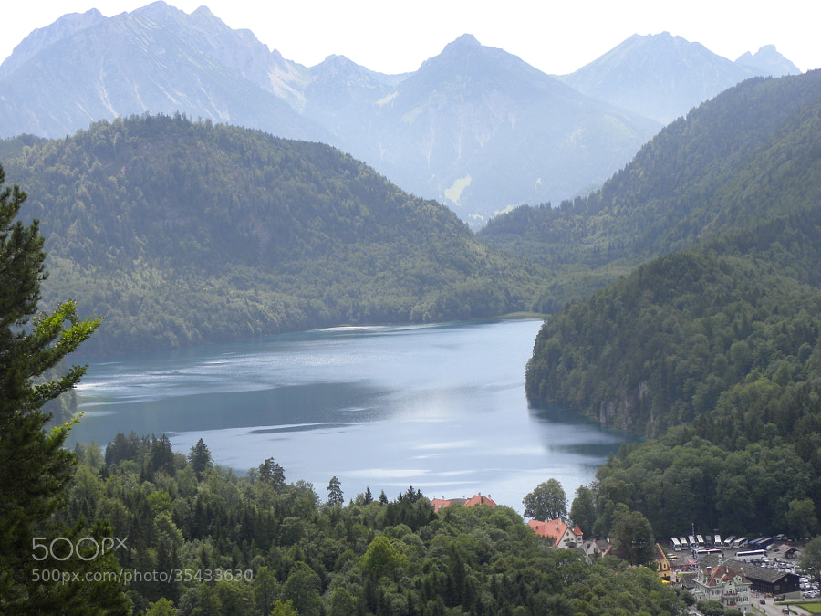 Lake Alpsee by Kunal  on 500px.com