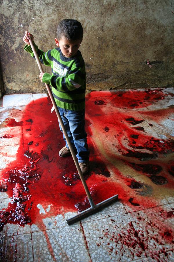 Palestinian Kid by Rj Stitt on 500px.com
