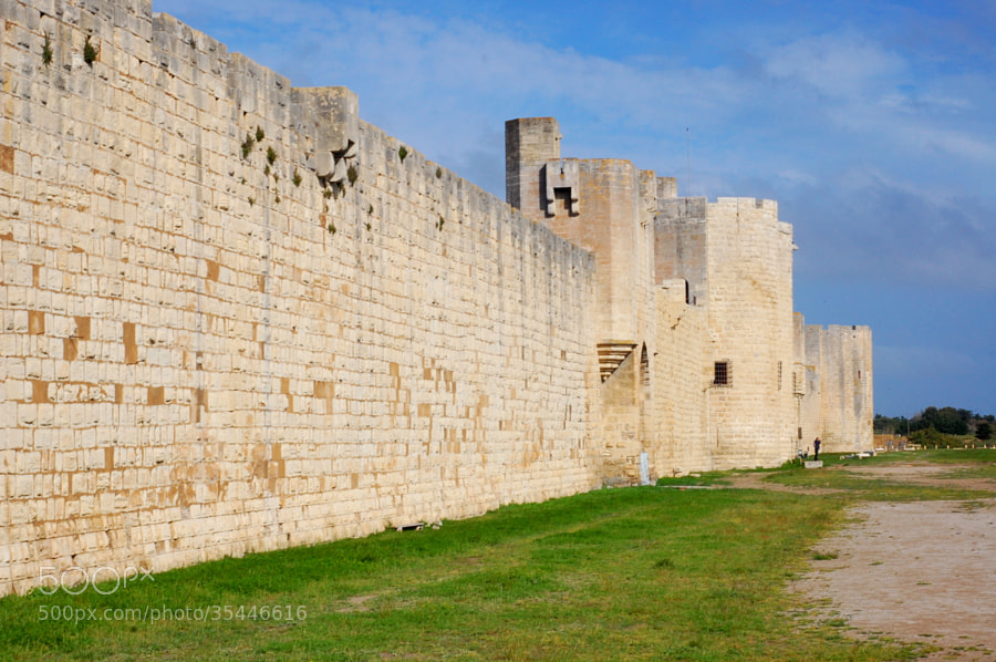 Fortifications au sud-est, Aigues-Mortes by Anna Stevenson (fraise)) on 500px.com