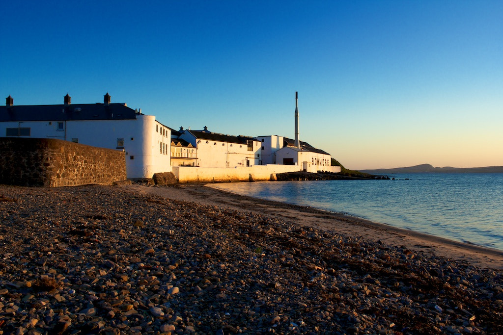 Photograph Sunset at Bowmore by Peter Moser on 500px