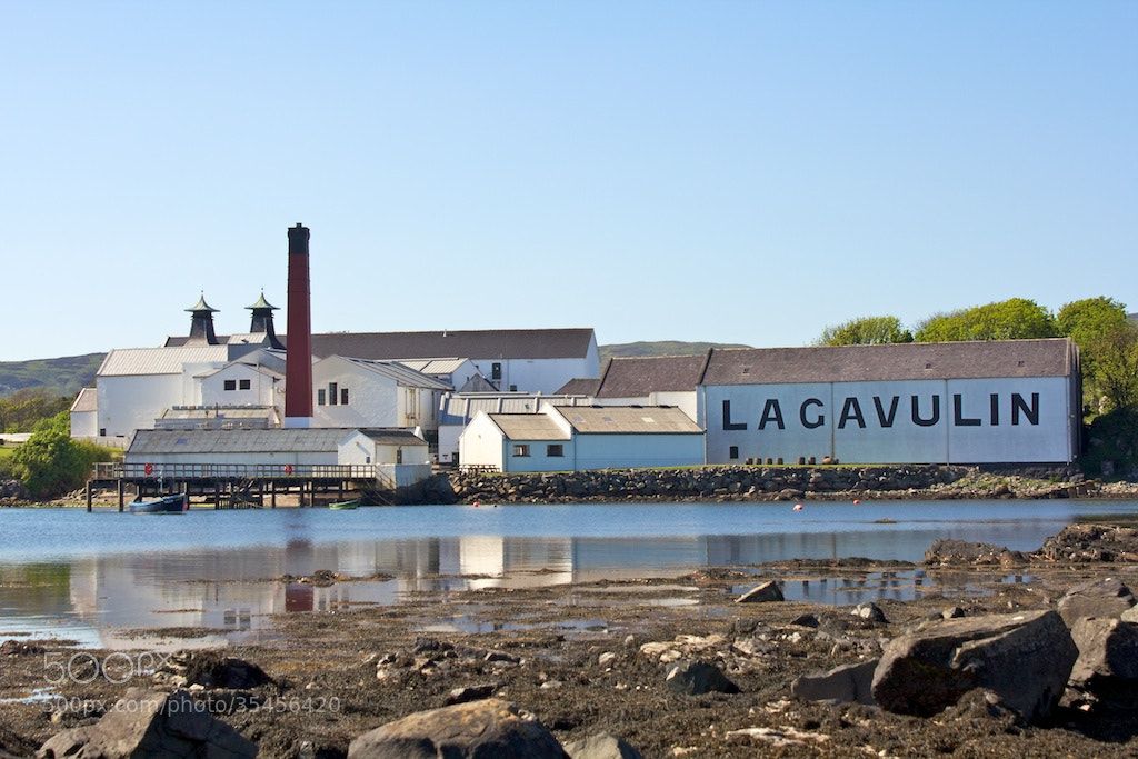 Photograph Lagavulin in the sun by Peter Moser on 500px