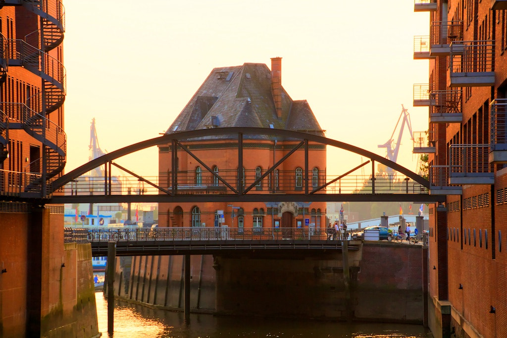 Photograph Hamburg Sunset by Peter Moser on 500px