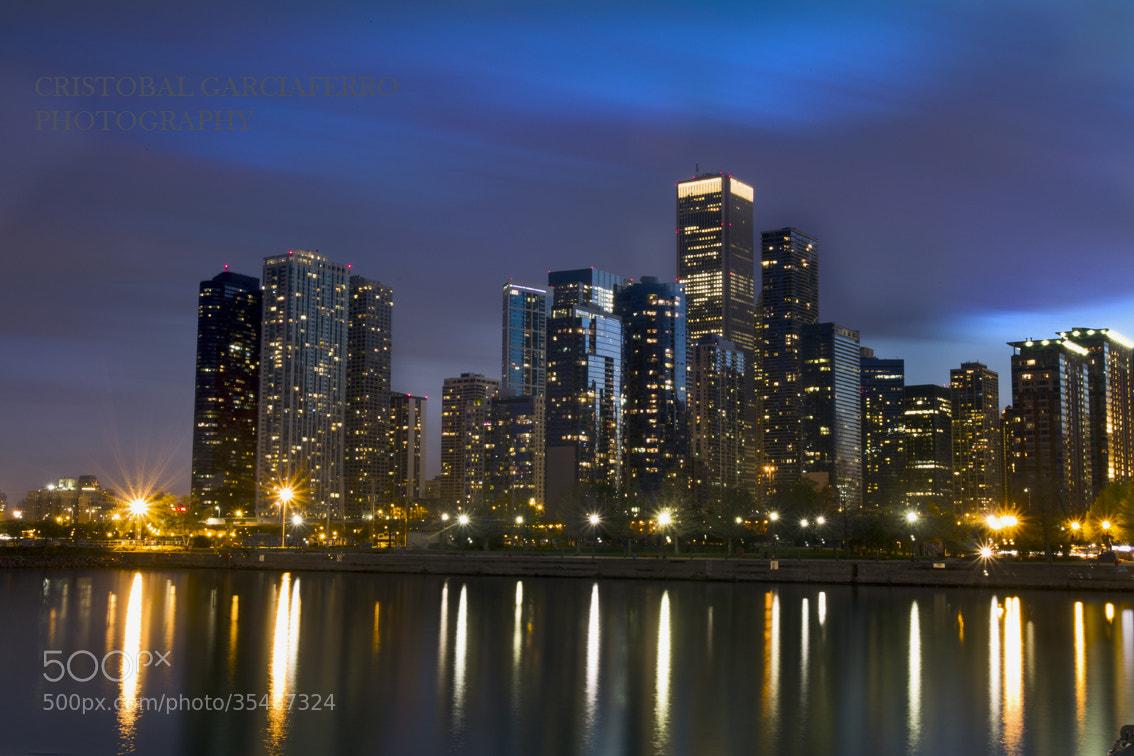 Photograph Sunset at Chicago by Cristobal Garciaferro Rubio on 500px