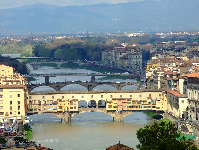 Photograph Ponti sull'Arno by AntonelloBerardi on 500px
