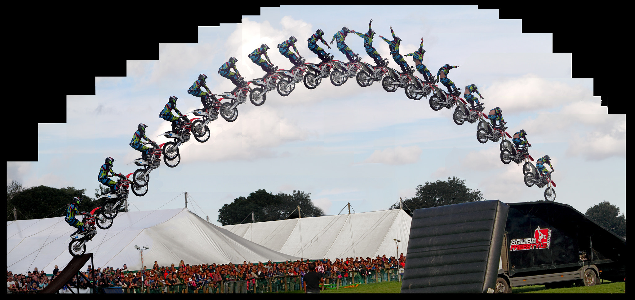 Photograph Stunt rider by Gary Dixon on 500px