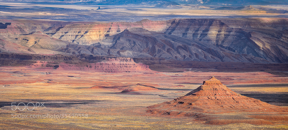Photograph The Badlands by Valerie Millett on 500px